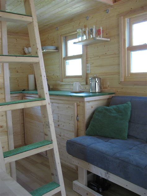 Tuff Shed Cabin Interior by From The Home Front Tiny House Lifestyle Tuff Shed