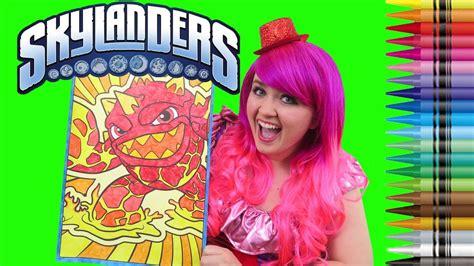 coloring eruptor skylanders giant coloring book page
