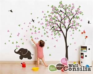 Sticker Für Die Wand Kinderzimmer : die besten 17 ideen zu wandtattoo baum auf pinterest ~ Michelbontemps.com Haus und Dekorationen