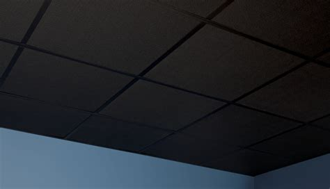 Black Drop Ceiling Tiles 2x2 by Stucco Pro Ceiling Tiles