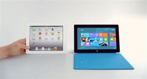 microsoft offends apple advertising surface ping test