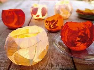 Teelichter Selber Basteln : einfach ein paar bl tter sammeln und tolle teelichter selber basteln bestpins pinterest ~ Eleganceandgraceweddings.com Haus und Dekorationen