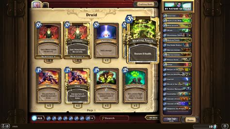 hearthstone decks druid combo hearthstone no combo r druid legendary rank deck