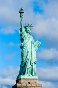 Pictures of the State of New York Statue of Liberty