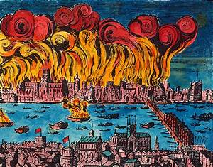 Great Fire Of London, 1666 Photograph by Granger