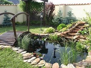 Jardin Avec Bassin : faire un bassin de jardin 28 id es fantastiques emprunter ~ Melissatoandfro.com Idées de Décoration