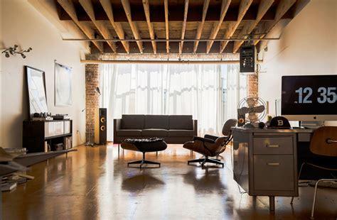 masculine loft apartment idea