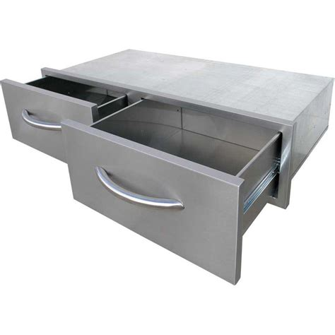 stainless steel kitchen storage cabinet suncast 97 gal resin outdoor patio cabinet bmoc4100 the