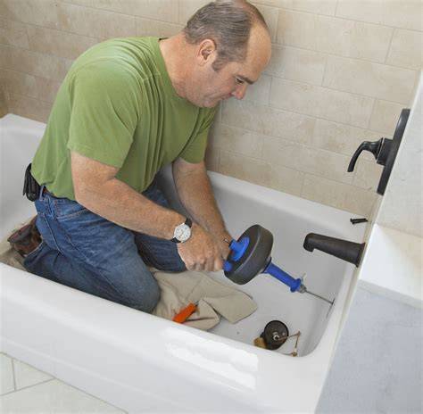Tackle A Slowdraining Bathtub  This Old House