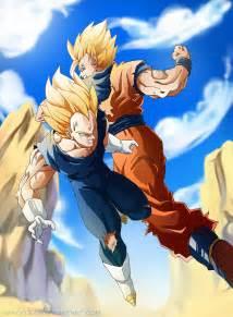 Dragon Ball Z Goku and Vegeta