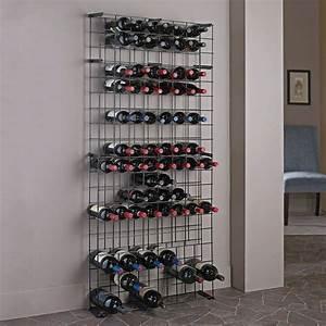 Wine, Enthusiast, 138-bottle, Black, Floor, Wine, Rack-631, 12, 02