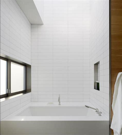 Modern Bathroom White Subway Tile by White Glass 4 Quot X 12 Quot Subway Tile In 2019 Bathrooms