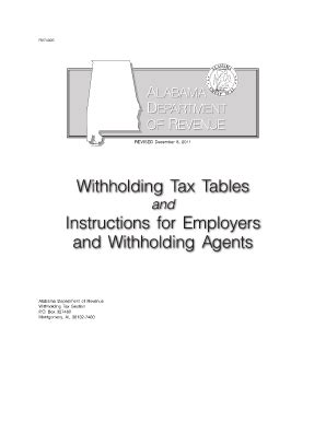 state of arkansas withholding tax tables state of alabama department of revenue employers tax guide
