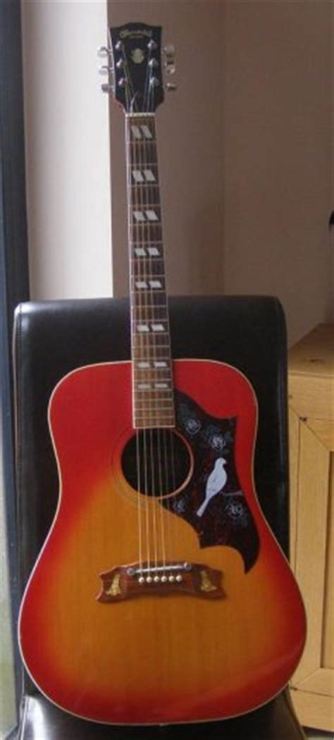 Suzuki Acoustic Guitar by Kiso Suzuki W 65ha Acoustic Guitar 1970s For Sale In