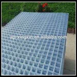 Treillis Soudé Maille 10x10 : 4x4 panneaux de treillis m tallique en acier galvanis ~ Dailycaller-alerts.com Idées de Décoration