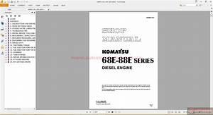 Komatsu Engine Workshop Manuals
