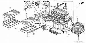2004 Honda  Ac  Heater Fan  Intermittently  10