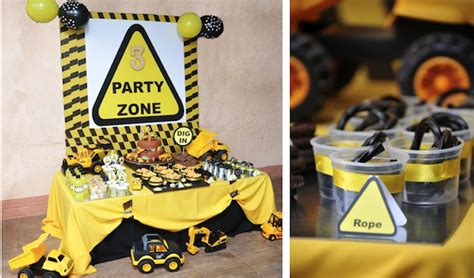 construction truck themed 1st birthday party planning ideas kara 39 s party ideas mining construction themed 3rd