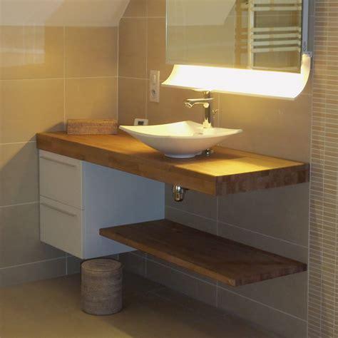 cuisine blanc et noyer flip design fabricant de plan de travail en bois massif