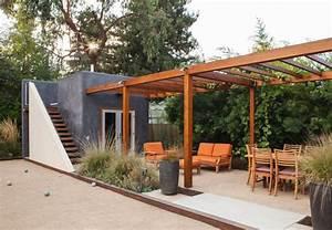Gartenhaus Modernes Design : moderne pergola 30 sch ne sitzpl tze im garten ~ Markanthonyermac.com Haus und Dekorationen