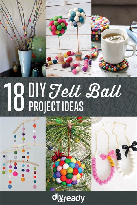 felt ball projects diy projects craft ideas how to s for home decor with videos