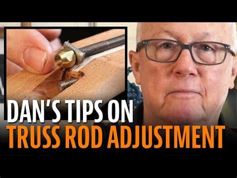 warmoth double truss rod side adjustment mechanism