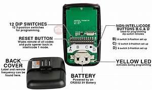 Skylink Garage Door Remote Instructions