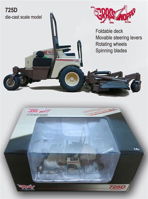 Die Cast Model Tn die cast scale model by grasshopper lawn mower co the