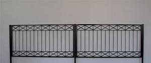 gartenzaun metall modern zaun zaune balkon tor crossline With französischer balkon mit gartenzaun tor metall