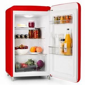 Retro Kühlschrank A : popart bar rot k hlschrank 136l retro design 3 ebenen gem sefach a rot klarstein ~ Orissabook.com Haus und Dekorationen