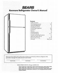 Refrigerator Repair  Kenmore Refrigerators Repair Manual