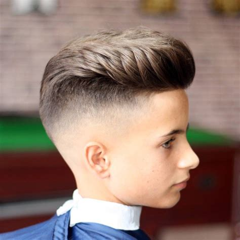 Boys Hairstyles On Top by S Hair Haircuts Fade Haircuts Medium