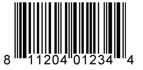 Upc A Barcode, Barcode, Stickers & Luggage Tags
