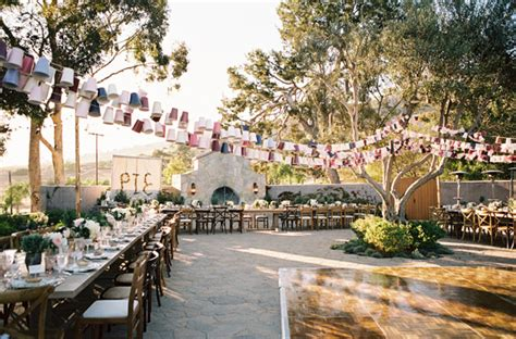 inspired wedding southern california wedding