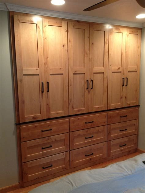 custom built in closet for the home