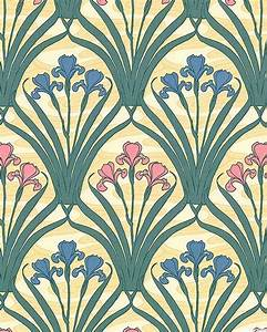 Papier Peint Art Nouveau : 25 trending art nouveau wallpaper ideas on pinterest ~ Dailycaller-alerts.com Idées de Décoration