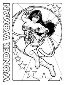 wonder woman coloring pages collections
