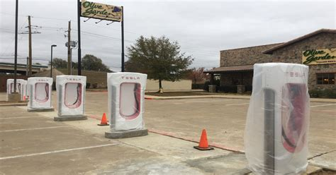 olive garden texarkana tesla superchargers installed at olive garden in texarkana