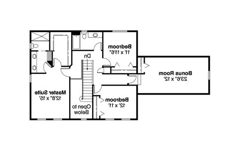 Colonial Floor Plans by Colonial House Plans Ellsworth 30 222 Associated Designs