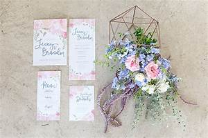 Rose Quartz Und Serenity : rose quartz pink serenity blue geometric wedding ideas ~ Orissabook.com Haus und Dekorationen