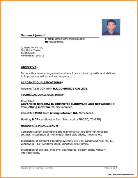 How To Format A Resume In Word sle resume free in word format resume