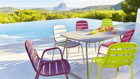 table et chaise de jardin carrefour meuble exterieur carrefour