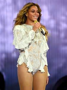 Beyonce Tour Costumes Formation