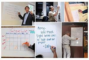 Wizard Wall Self Adhesive Dry Erase Sheets, Patented ...