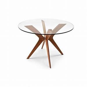 Table En Verre Ronde : table ronde verre 100 cm ~ Teatrodelosmanantiales.com Idées de Décoration