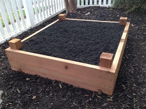 raised landscape beds raised garden beds memphis built by william pegg