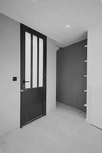 peinture et couleur pour une entree de maison accueillante With porte d entrée alu avec sous couche sol salle de bain