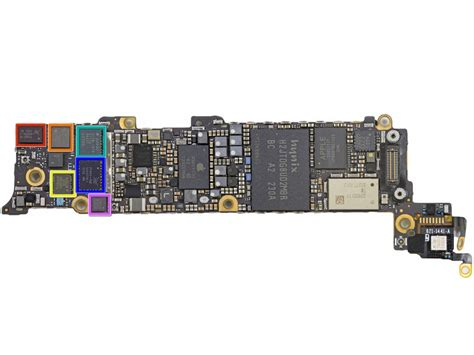 iphone 5 motherboard the new iphone 5 is already taken apart modding magazine