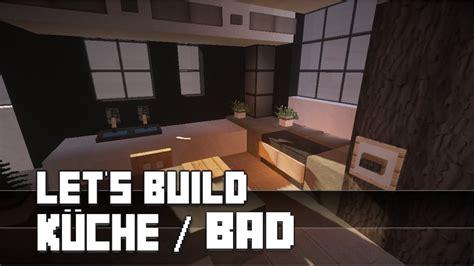 Minecraft Kuche Bauen by Minecraft M 246 Bel Tutorial Moderne K 252 Che Bad Bauen