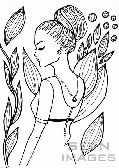 Coloring Printable Pages Summer Adult Zdroj Pinu